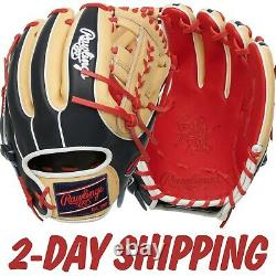 2021 Rawlings 11.5 Heart of the Hide Color Sync 5.0 Infield Glove PRO314-19SN