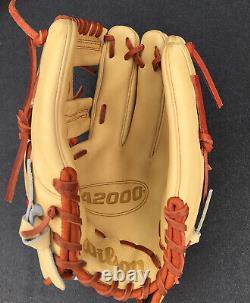 2021 Wilson A2000 1787 11.75 Baseball Glove WBW1000891175 RHT Pro Stock