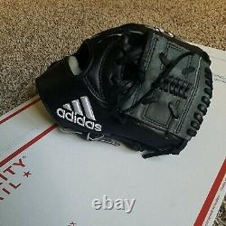Adidas Baseball Glove 11.25 EQT 1125 MI Pro Series Infield MSRP $220 RHT Black