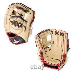 All Star 11.5 Pro Elite Adult Baseball I-Web Infield Glove Cream