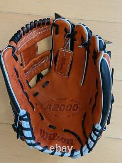 GRS-2018-87 Wilson RHT A2000 Pro Infield Baseball Glove 11.75 Inch