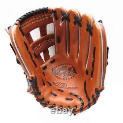 HATAKEYAMA Classic Pro 12 inch Baseball Softball Infielder Glove Brown