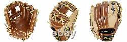 Heritage-Pro Buckler baseball, H1156WC 11.5 RHT Infield Glove Walnut/Camel