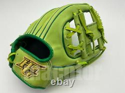 Japan Hi-Gold Pro Order 12 Infield Baseball Glove Light Green RHT Limited Gift