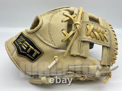 Japan ZETT Special Pro Order 11.5 Infield Baseball Glove Cream H-Web RHT Gift