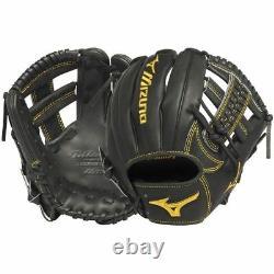 Mizuno GMP600BK RHT 11.5 Pro Limited Black Baseball Glove/Mitt $500 MSRP
