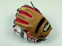 New! 2017 Wilson A2K DATDUDE Pro Stock MLB INFIELD Baseball Glove 11.5 RH Throw
