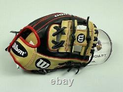 New! Wilson A2000 PF88 MLB Pro Stock INFIELD Baseball Glove 11.25 Pedroia Fit