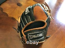 RARE Spalding Pro Select Robinson Cano Style 11.5 Infielder RHT Baseball Glove