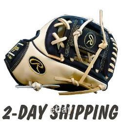 RAWLINGS 11.5 HOH R2G Custom Glove PROR234 Camel/Black (PRO200) 2-DAY SHIPPING