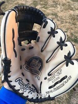 Rawlings 11.5 Pro Preferred PRO207-2KP Baseball Glove Barely Used Deer Tanned