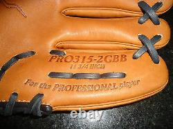Rawlings Heart Of The Hide (hoh) Narrow Fit Pro315-2gbb Glove 11.75 Rh $259.99