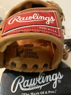Rawlings Heart Of The Hide hoh PRO-204MT Mod Trap Baseball Glove made in the USA