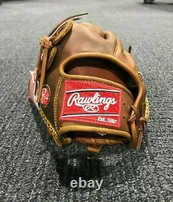 Rawlings Heart of The Hide Brown 11.75 Left Handed Baseball Glove PRO205-9TIFS