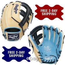 Rawlings Heart of the Hide 11.5 Baseball Glove Infield Single Post PRO204