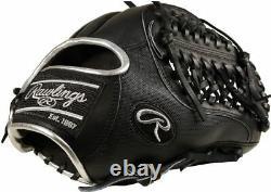 Rawlings Heart of the Hide Blackout 11.75 inch Baseball Glove RHT PRO205-4BSS