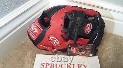 Rawlings Hoh Heart Of The Hide 11.5 Baseball Glove, Pro202sb, Nwt, Rht, Red