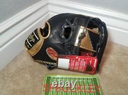 Rawlings Hoh Heart Of The Hide 11.5 Pro-goldy IV Infield Baseball Glove, Nwt