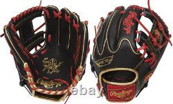 Rawlings PRO205W-2BG 11.75 Heart Of The Hide Baseball Glove Infield Pro I Web