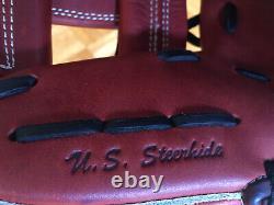 Rawlings PRO217P Heart of the Hide 11 Infield I-Web Oxblood Burgundy Glove