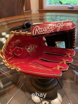 Rawlings PRONP4-2SBG 11.5 Heart Of The Hide Baseball Glove Infield Pro I Web