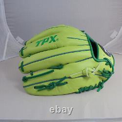 TPX Pro 12 Mustard Greens Infield Net T Web Right-Handed Thrower Baseball Glove