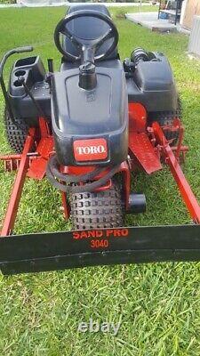 Toro 3040 Sand Pro Baseball Infield Groomer