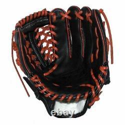 Vinci Pro 22 Series Mesh Back JC3333-22 Baseball Glove Black with Red Welting an
