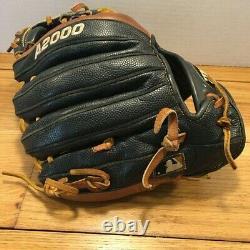 WILSON A2000 1788 11.25 PRO STOCK i Web Baseball Glove BROKEN IN Black Brown