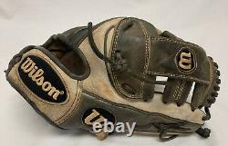 Wilson A2000 Pro Model 11.5 Leather Baseball Glove Infielders Brown MLB