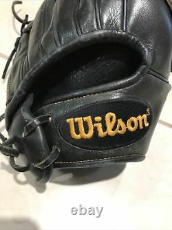 Wilson A2K 12 Baseball Glove Pro Stock Select Black Right Hand Thrower Preowned