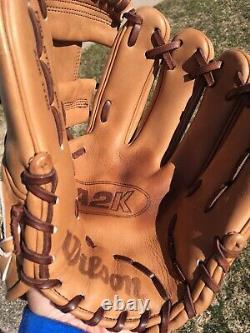 Wilson A2K 1786 Pro Stock Select 11.5 RHT Baseball Glove Righty Thrower Japan