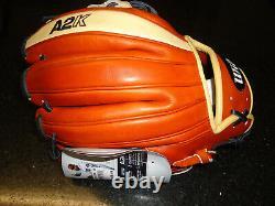 Wilson A2k 1786 Pro Stock Select Glove Wta2krb181786 11.5 Rh $359.99
