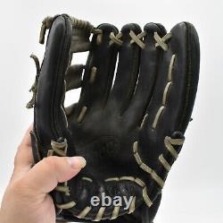 Wilson Pro Stock A2000 DW5 12 Infielders Baseball Glove Black/Gray RHT