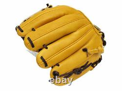 ZETT Pro Model 11.25 inch Tan Baseball Infielder Glove