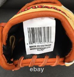 2021 Wilson A2000 1787 11.75 Gant De Baseball Wbw1000891175 Rht Pro Stock