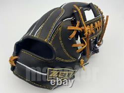 Japon Zett Special Pro Order 11.5 Infield Baseball Gant Noir H-web Rht Gift