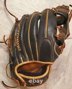 Mizuno Pro Sélectionner 11,5 Gants De Baseball Rht Infield Poche Peu Profonde Gps1bk-400s