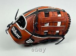 Nouveau! Wilson A2k 1721 Pro Stock Mlb Infield Gants De Baseball 12 Lancer À Main Droite