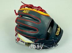 Nouveau! Wilson A2k Datdude Gm Pro Stock Mlb Infield Gants De Baseball 11,5 T.n.-o. Rare