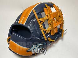 Nouvelle Commande Hi-gold Pro 11.75 Infield Gants De Baseball Tan Navy H-web Rht Japon