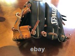 Rare Spalding Pro Sélectionner Robinson Cano Style 11.5 Infielder Rht Gants De Baseball