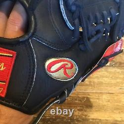 Rawlings 11.25 Glove Gold Label Gg1125 50th Anniversary Baseball Gold Labels
