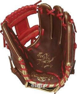 Rawlings Coeur De La Cache 11.5 Gants De Baseball Infielder Pro204-2tig