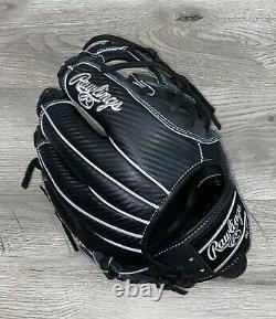 Rawlings Custom Heart Of The Hide Glove Pro204dm-2 Black Hyper Shell Rht 11,5