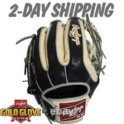 Rawlings Gold Gants Club Protech Hoh Custom 11.5 Infield Gants Pro314 2-day
