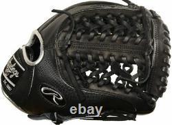 Rawlings Heart Of The Hide Blackout 11.75 Pouces Gant De Baseball Rht Pro205-4bss