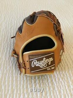 Rawlings Heart Of The Hide Pro205w-4tch 11.75 Baseball Glove Wing Tip T.n.-o.