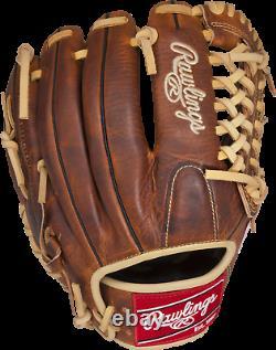 Rawlings Heritage Pro 11.75 Gant De Baseball Infield Rht Hp205-4ca Cuir Adulte