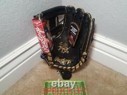 Rawlings Hoh Coeur De La Cache 11.5 Pro-goldy IV Infield Gants De Baseball, Nwt